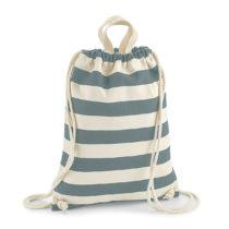 W686 Nautical Gym Bag Rugtas Natural Grey