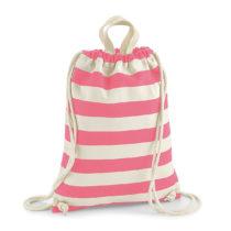 W686 Nautical Gym Bag Rugtas Natural Pink