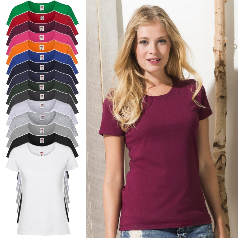 Fruit Of The Loom Lady Fit Ringspun Premium T 61 424