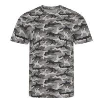 Jt034 Camo Heren T Shirt Grey Camo
