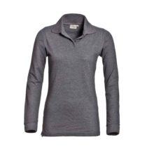 Santino Mattladies Poloshirt Dark Grey Pr Lr