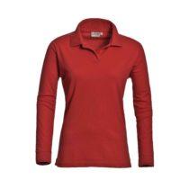 Santino Mattladies Poloshirt Red Pr Lr