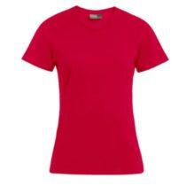 E3005 Dames T Shirt Promodoro Red