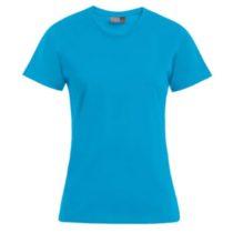 E3005 Dames T Shirt Promodoro Turquoise