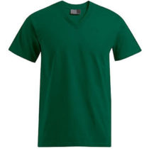 E3025 Heren T Shirt Promodoro Met V Hals Bottle Green