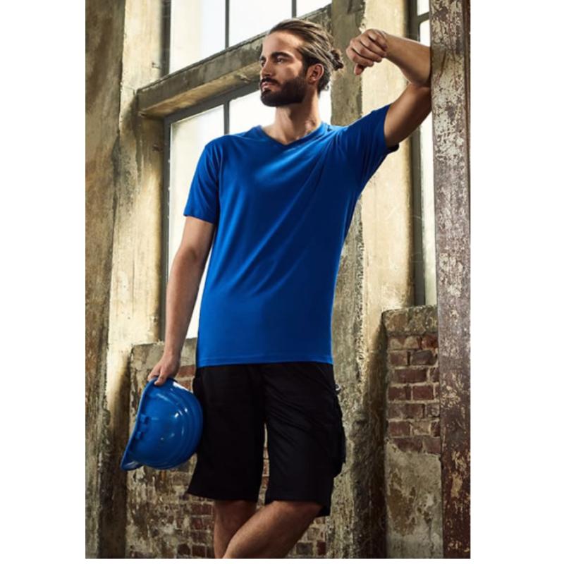 E3025 Heren T Shirt Promodoro Met V Hals