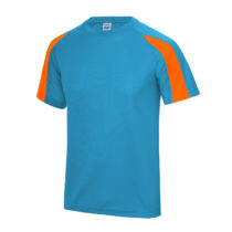 Jc003 Sapphire Blue Electric Orange Front