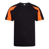 Jc003 J Jet Black Electric Orange Front