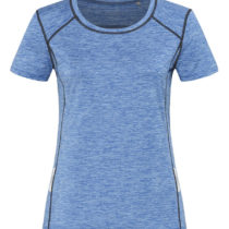 Dames Sport T Shirt Stedman Reflect St8940 Blue Heather