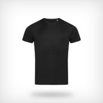 St8000 Heren Sport T Shirt Stedman Black
