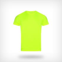 St8000 Heren Sport T Shirt Stedman Cyber Yellow