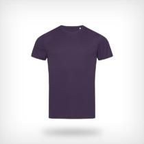 St8000 Heren Sport T Shirt Stedman Deep Berry