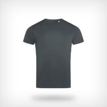 St8000 Heren Sport T Shirt Stedman Granite Grey
