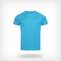St8000 Heren Sport T Shirt Stedman Hawaii Blue