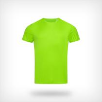 St8000 Heren Sport T Shirt Stedman Kiwi Green