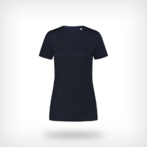 St8100 Dames Sport T Shirt Stedman Blue Midnight