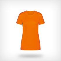 St8100 Dames Sport T Shirt Stedman Cyber Orange