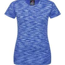 St8900 Dames Sport T Shirt Stedman Kiwi Blue Melange