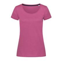 St9130 Dames T Shirt Stedman Megan Crewneck Cupcake Pink