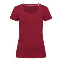 St9700 Dames T Shirt Stedman Claire Crewneck Bordeaux