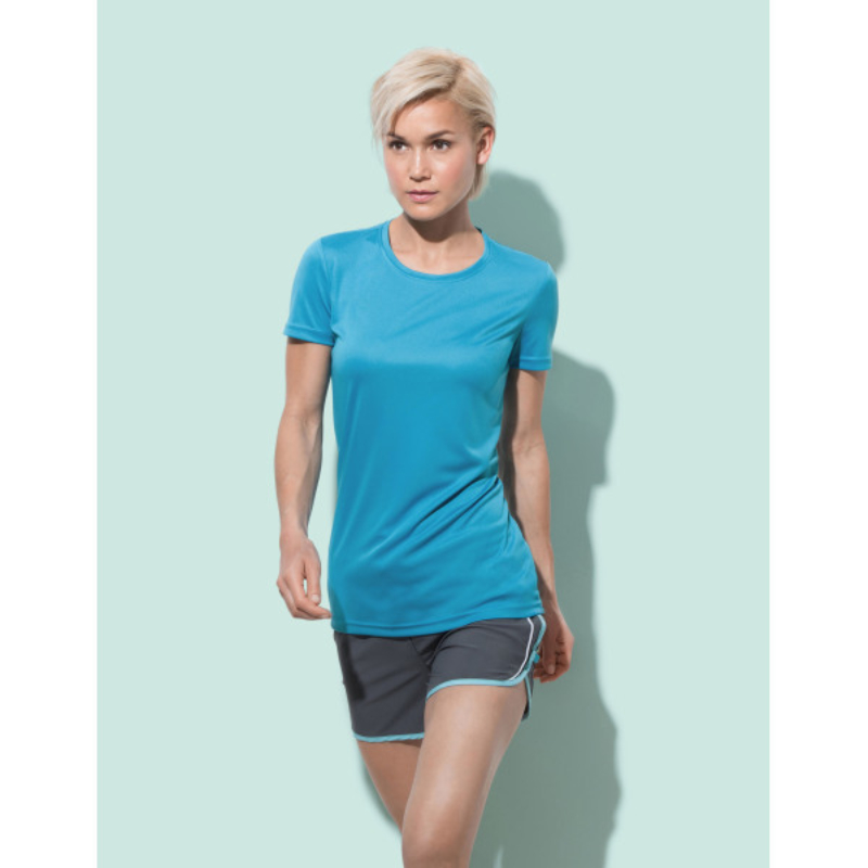 St8100 Stedman Dames Sport T Shirt Interlock Active Dry