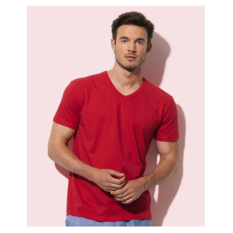 Stedman St9010 Ben V Neck Heren T Shirt