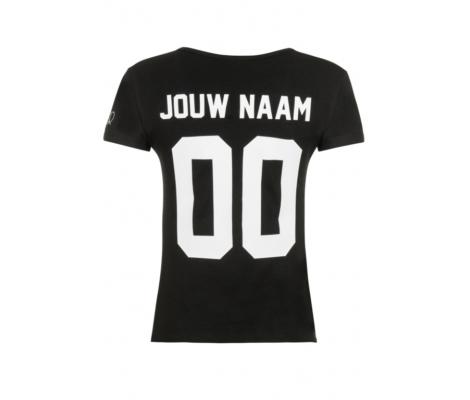 Naam En Nummer Op T Shirt