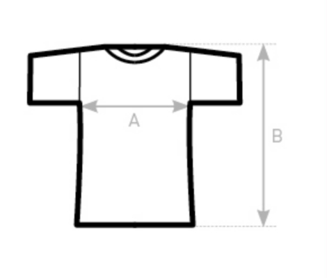 Afmeting T Shirt