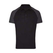 My410 Herenpolo Slim Fit Black Heather
