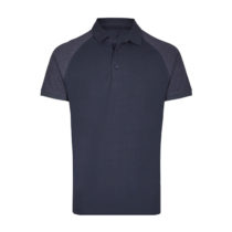 My410 Herenpolo Slim Fit Navy Heather Navy