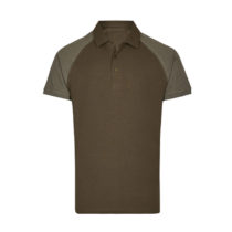 My410 Herenpolo Slim Fit Olive Heather Olive