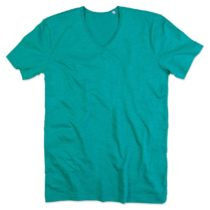 St9410 Shawn Heren Slub Shirt Bahama Green