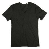 St9410 Shawn Heren Slub Shirt Black Opal