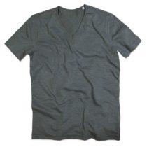 St9410 Shawn Heren Slub Shirt Slate Grey
