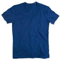 St9410 Shawn Heren Slub Shirt True Blue