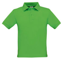 Safran Kids Polo Real Green