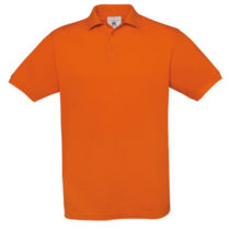 Safran Polo Pumpkin Orange