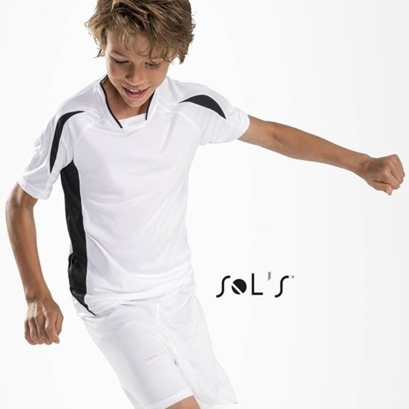 Sols Maracana Kids 2 Short Sleeve