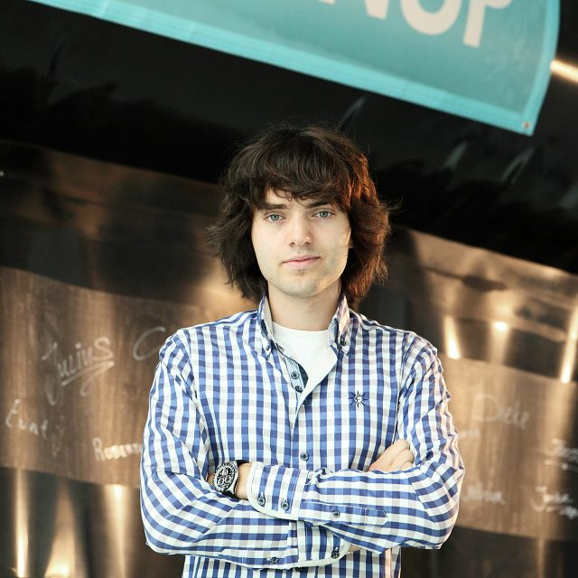 Boyant Slat in front of the northsee prototype