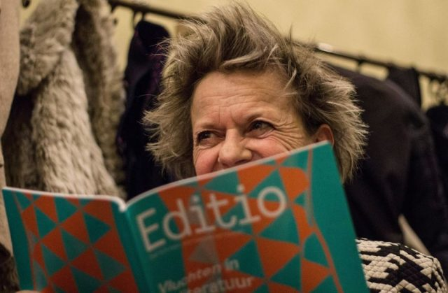 Connie Palmen reading Editio Magazine