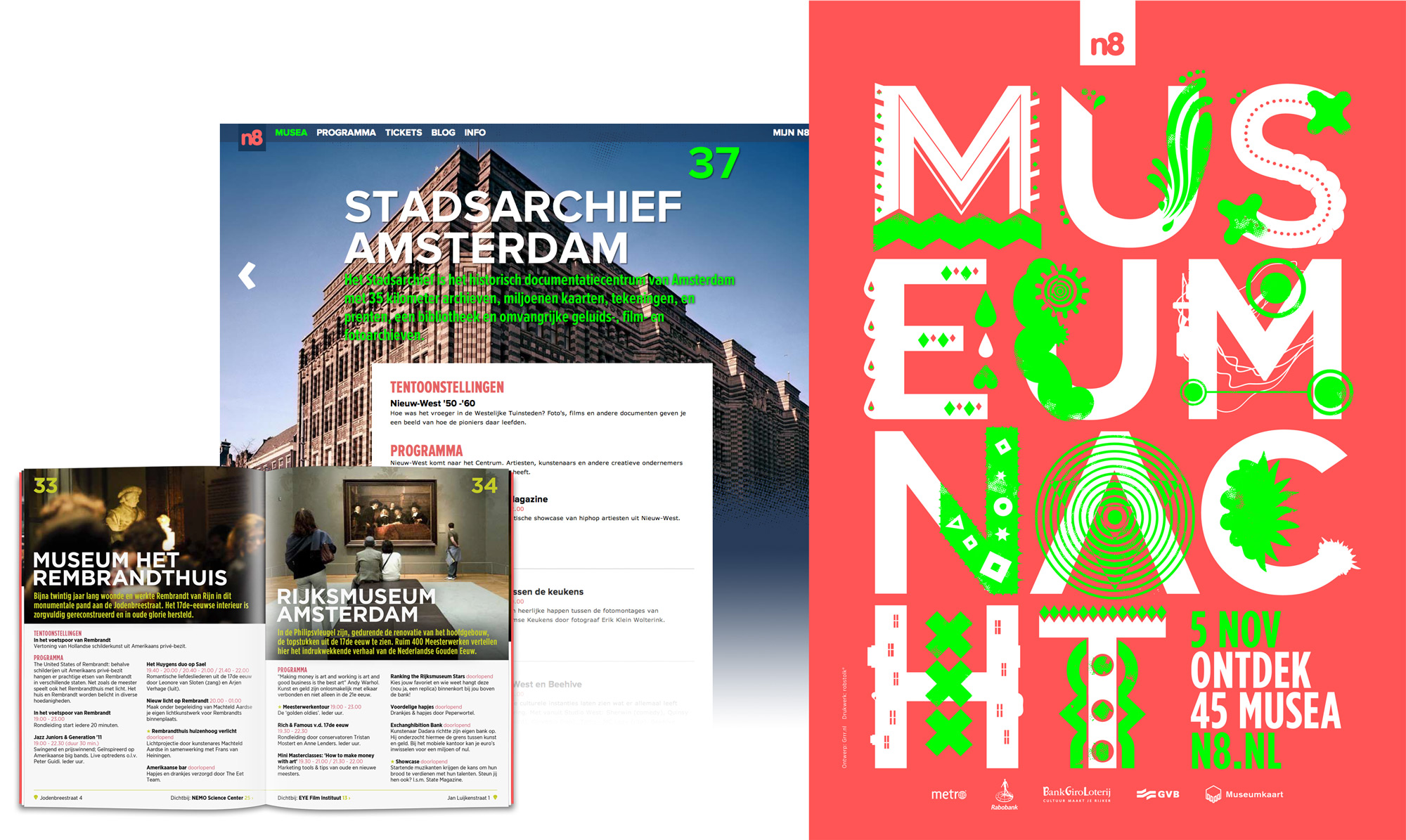 Museumnacht campagne branding