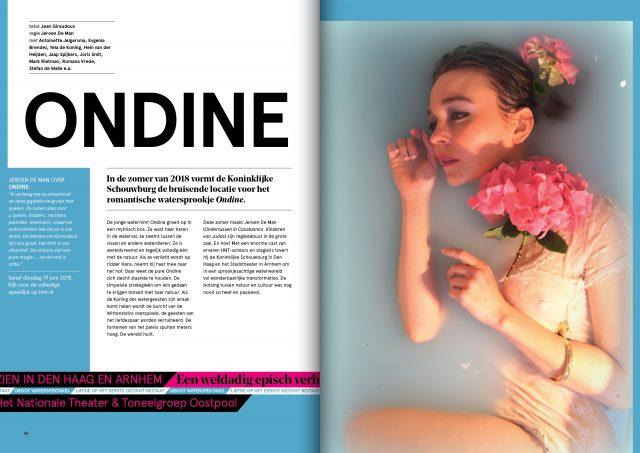 Brochure National Theatre Magazine