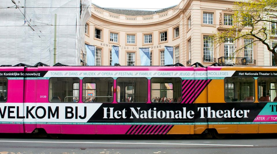 National Theatre Amsterdam Tram