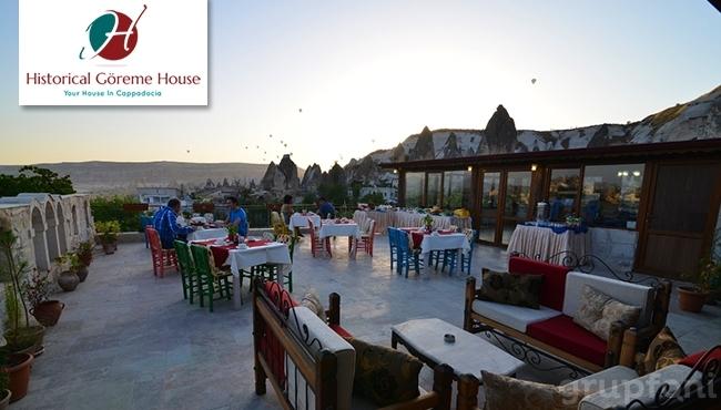 Kapadokya Historical House Hotel'de 1 Gece Kahvaltı Dahil Çift Kişilik Konaklama!
