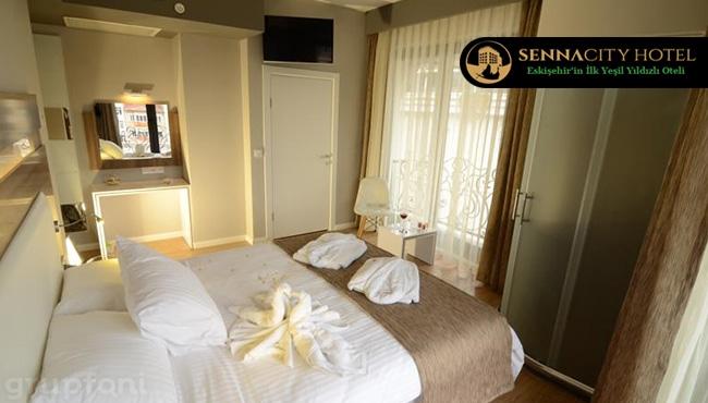 Eskişehir Senna City Hotel'de  Kahvaltı Dahil Konaklama Keyfi !