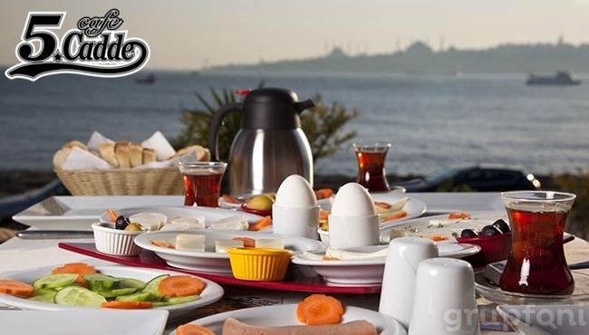 Üsküdar Cafe 5. Cadde Life'da Kız Kulesi'ne Karşı Kahvaltı Keyfi!