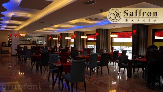 Eskişehir Saffron Hotel'de Çift Kişilik Konaklama!