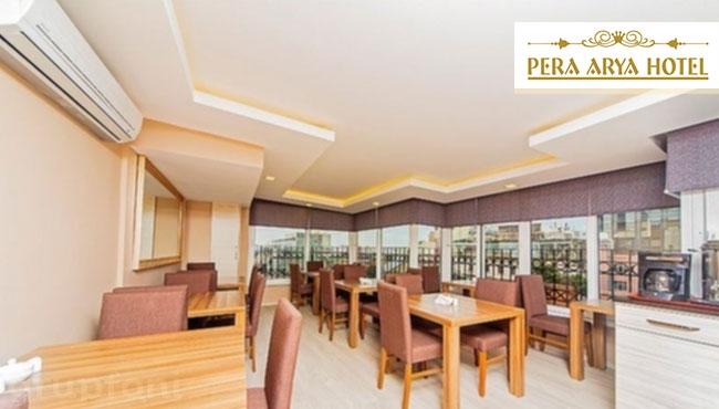 Beyoğlu Pera Arya Hotel'de Kahvaltı Dahil Konaklama!