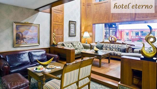 Beyoğlu Eterno Hotel'de Kahvaltı Dahil Konaklama Keyfi!