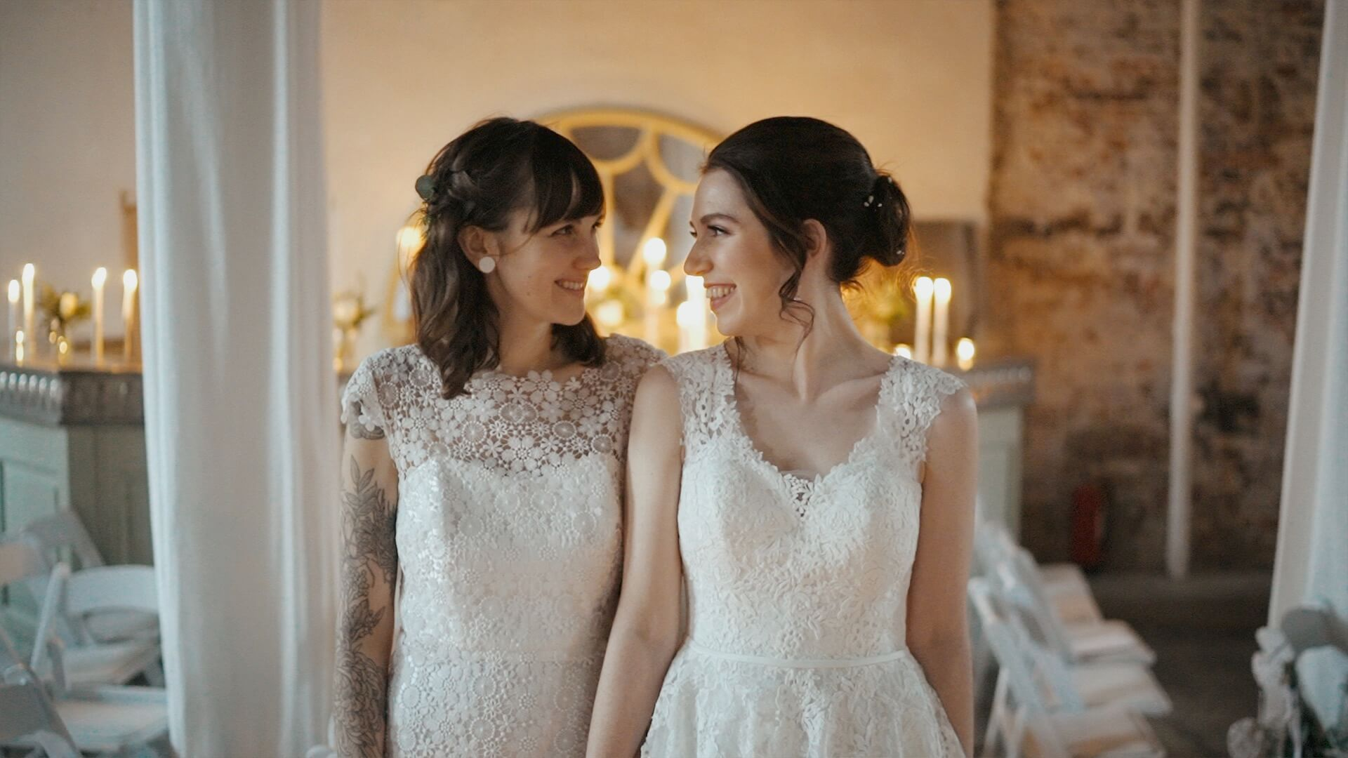 Claire & Sophie, Wedding Video at The Millhouse